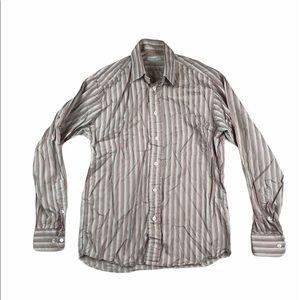 Burberry London Long Sleeve Button Down Shirt S